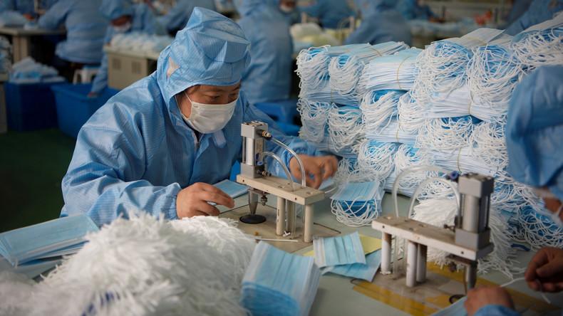 Chinas Export medizinischer Güter steigt auf 1,45 Milliarden US-Dollar
