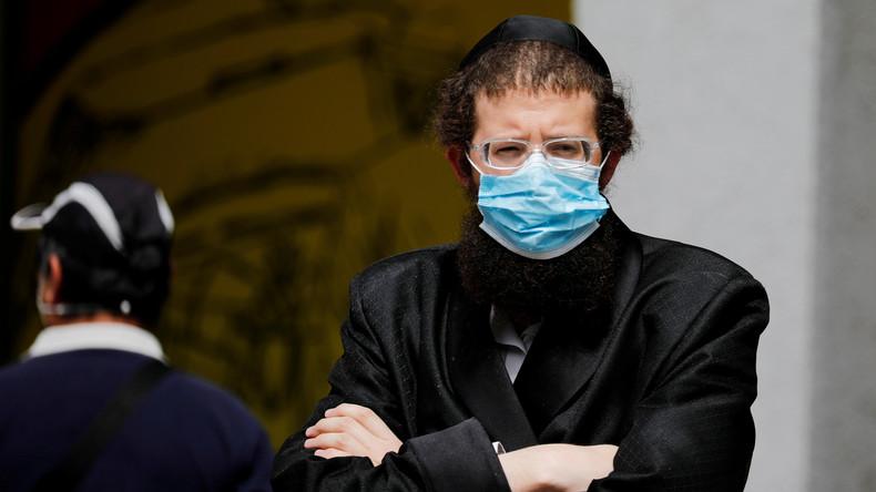 Rasur nicht nötig: Israelische Gläubige mit Bart sollen maßgeschneiderten Mundschutz bekommen