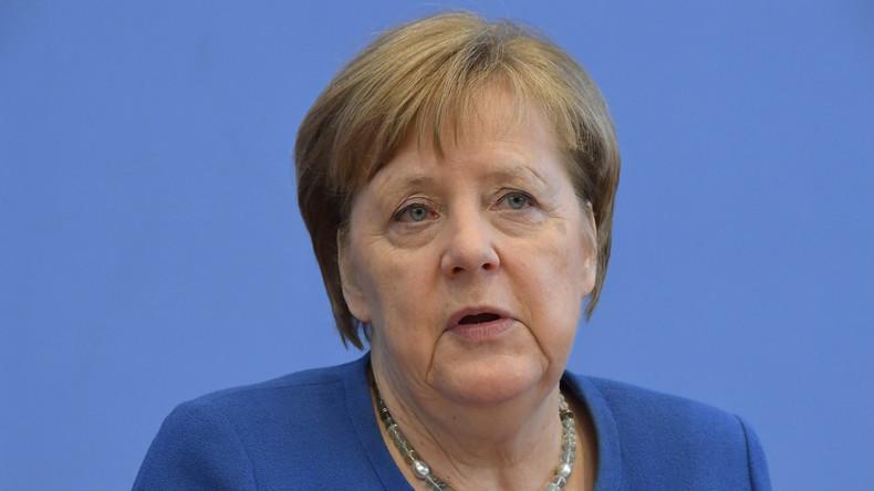LIVE: Pressekonferenz von Bundeskanzlerin Merkel zur Corona-Krise