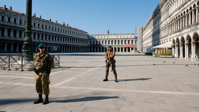 """COVID-19-Hotspot: Italien legt Plan für """"Leben mit dem Virus"""" vor"""
