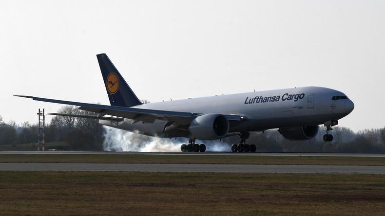 """Masken-""""Luftbrücke"""" zwischen Deutschland und China wird eingerichtet"""