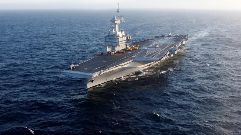 Wegen möglicher COVID-19-Erkrankungen: Französischer Flugzeugträger unterbricht Nahost-Mission
