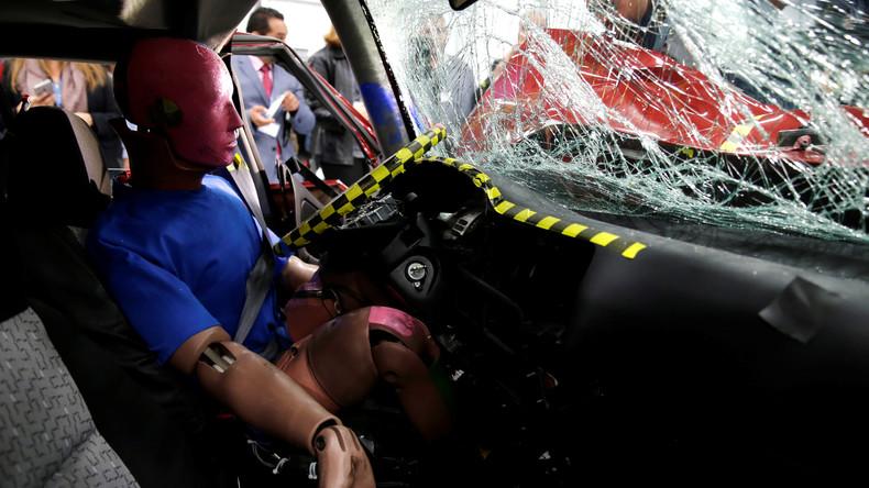 Crashtest-Video legt nahe: Richtige Ladungssicherung muss sein
