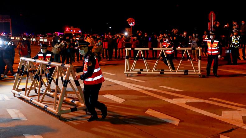 Wuhan feiert Ende der Quarantäne