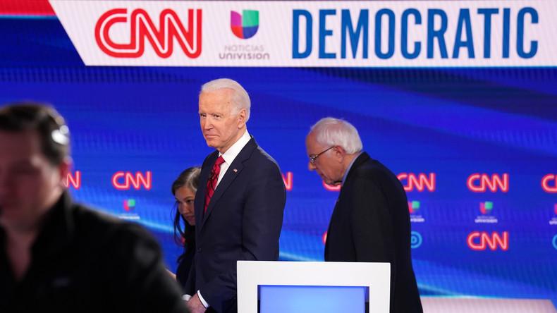 USA: Bernie Sanders gibt offiziell auf und macht Weg frei für Joe Biden als Präsidentschaftskandidat