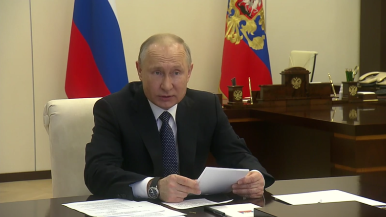 Russland: Putin ruft dazu auf, die Fehler anderer im Kampf gegen das Coronavirus zu vermeiden