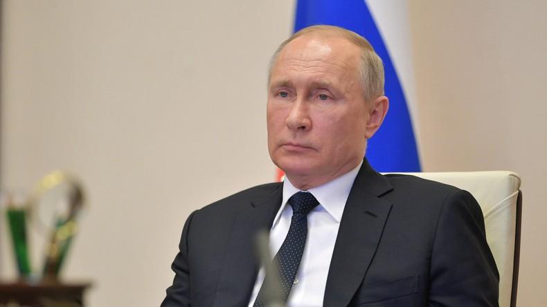 Wegen Corona: Putin kündigt zusätzliche Maßnahmen zur Unterstützung der russischen Wirtschaft an