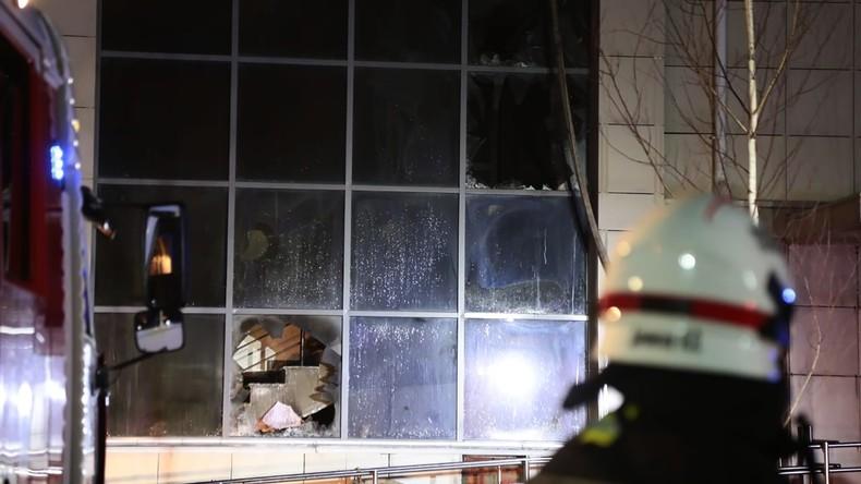Moskau: Tote und Verletzte bei Brand in Altenheim