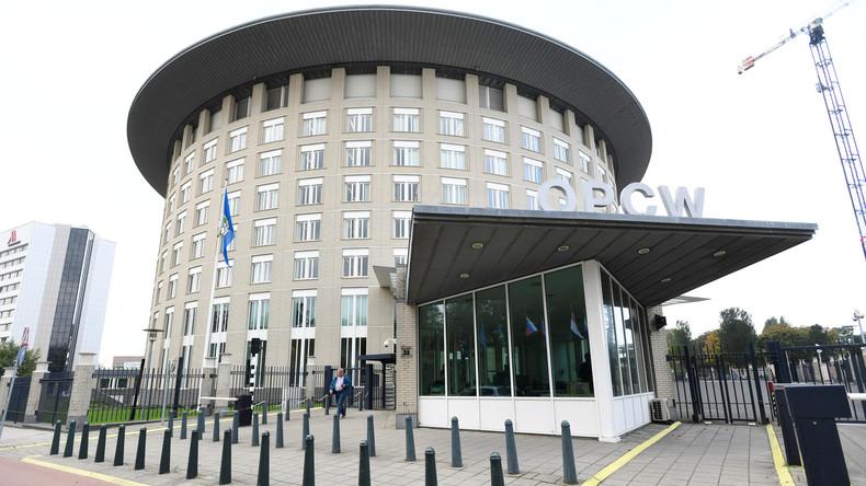 Trotz Whistleblower-Skandals: OPCW hält syrische Regierung für Giftgasangriffe schuldig