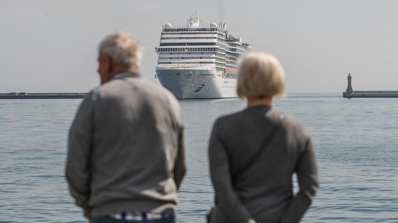 Wettlauf gegen Coronavirus: Weltreisende auf Kreuzfahrtschiff bleiben von Pandemie verschont