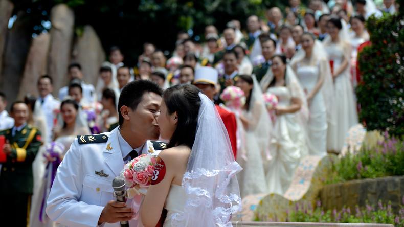 Von wegen Scheidungsboom: Wuhan meldet vierfachen Anstieg von Eheanmeldungen nach Quarantäne-Aus