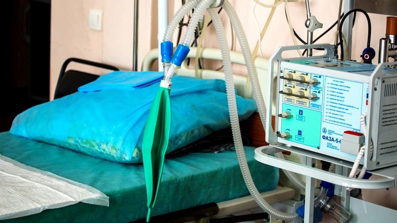 Mehr als 30 Staaten bitten Russland um Hilfe bei Lieferungen von Beatmungsgeräten