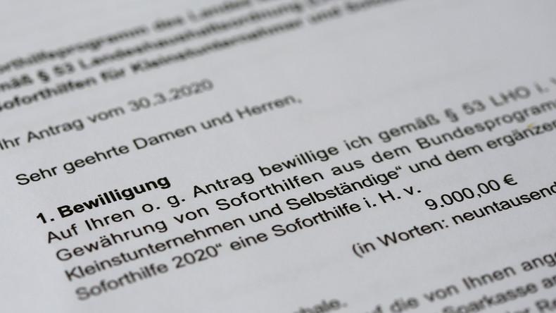NRW stoppt Auszahlung von Corona-Soforthilfen wegen Betrugsverdachts