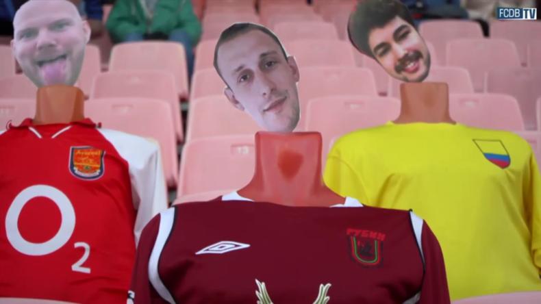 """Weißrussland: Virtuelle Fans aus aller Welt """"besuchen"""" Halbfinale in Fußball-Pokalspiel"""