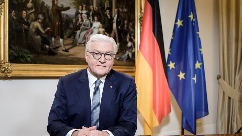 """Steinmeier: """"So viele von Ihnen wachsen jetzt über sich selbst hinaus. Ich danke Ihnen dafür!"""""""