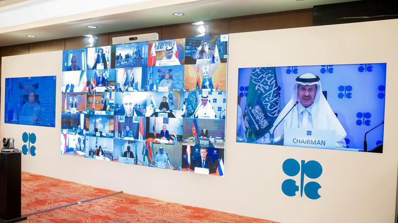 OPEC+ erreicht neuen Deal zur Kürzung der Ölproduktion um fast zehn Millionen Barrel pro Tag