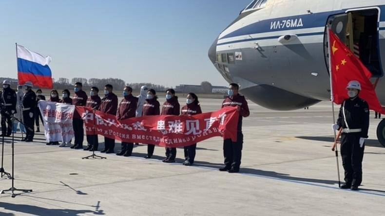 China schickt angesichts des COVID-19-Höchststandes Virologen und Ausrüstung nach Russland