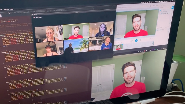 Wenn du Videokonferenzen satt hast: Programmierer schafft seinen digitalen Klon für Zoom
