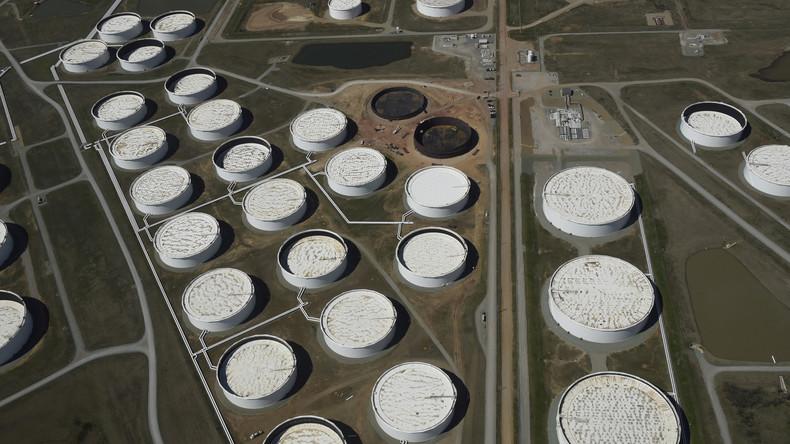 Analysten warnen: US-Öllager stoßen spätestens Mitte Mai an ihre absoluten Kapazitätsgrenzen