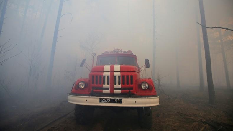 """""""Die Situation ist kritisch"""" - Waldbrände bei Tschernobyl rücken an Sperrzone heran"""