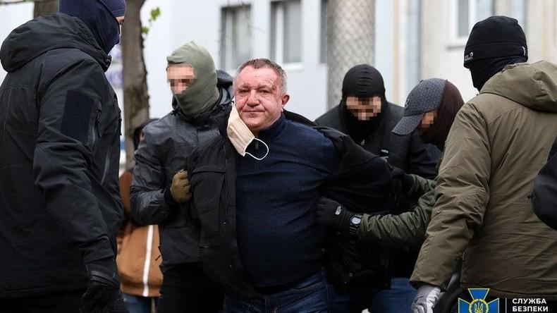 Ukraine: Geheimdienst-General als mutmaßlicher russischer Spion enttarnt