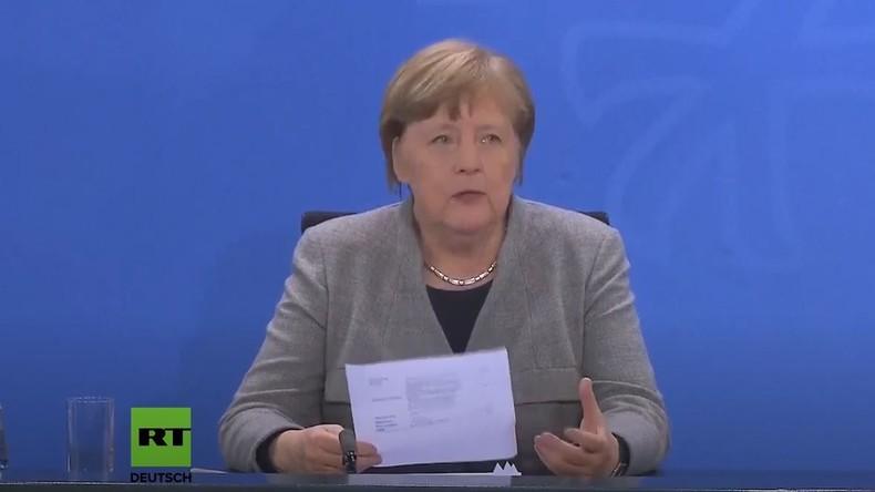 LIVE: Merkel gibt Erklärung zur andauernden Coronavirus-Krise ab