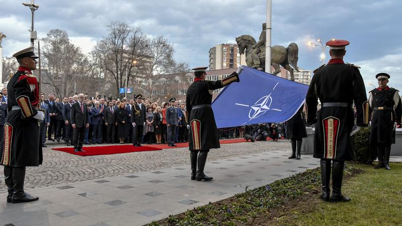 Propagandakrieg: US-Botschafterin drängt Nordmazedonien zur Aufnahme eines NATO-Medienteams