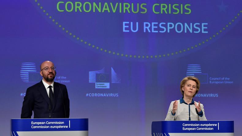 Verfechter der EU-Integration beklagen die Corona-Zwistigkeiten zwischen den Mitgliedstaaten