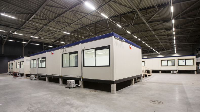 Rotterdam: Bühne für  Eurovision Song Contest zu Notfallkrankenhaus umgerüstet