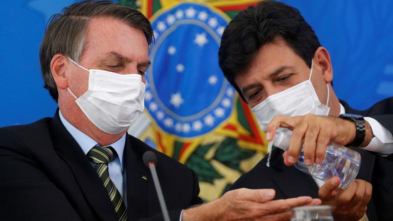 Meinungsverschiedenheiten über Corona-Maßnahmen: Bolsonaro feuert Gesundheitsminister
