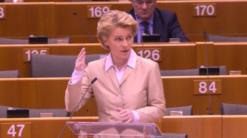 """A Big Sorry von Ursula von der Leyen an Italien: """"Unsere helfende Hand kam zu spät"""""""