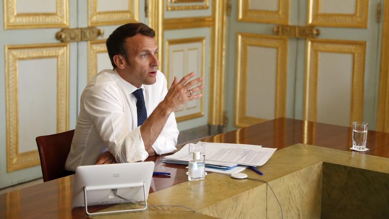 Französischer Präsident Macron glaubt fest an globale Waffenruhe