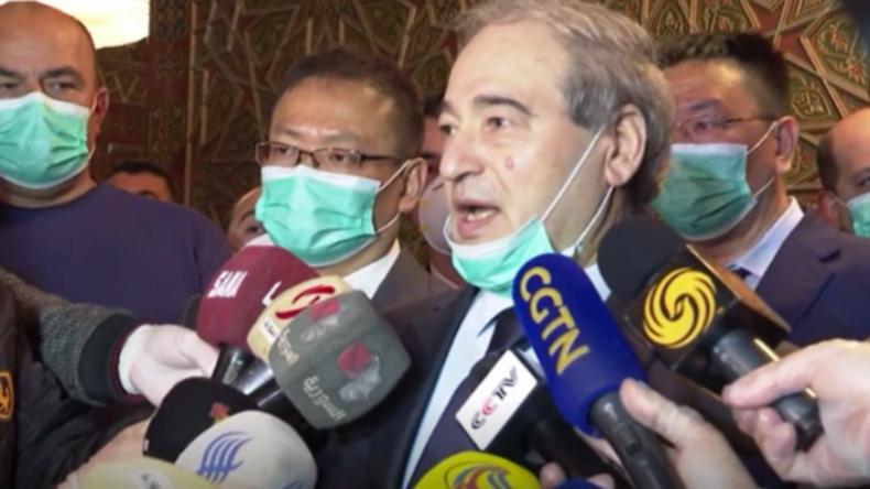 Syrien verurteilt EU und USA für völkerrechtswidrige Sanktionen, die Medizingüter blockieren