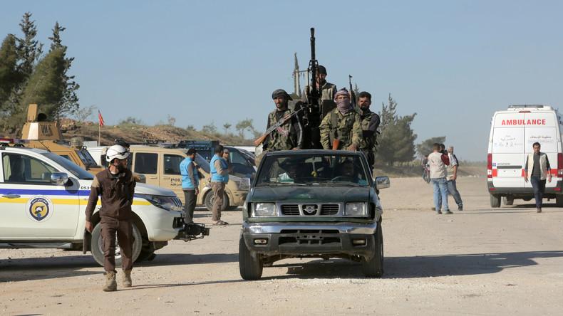 Syrien: US-ausgebildete Kämpfer wollen sich ergeben - Eigene Gruppierung lockt sie in Hinterhalt