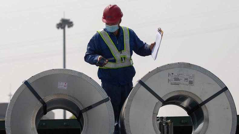 Chinas Wirtschaft stürzt inmitten der Corona-Krise um fast sieben Prozent ab