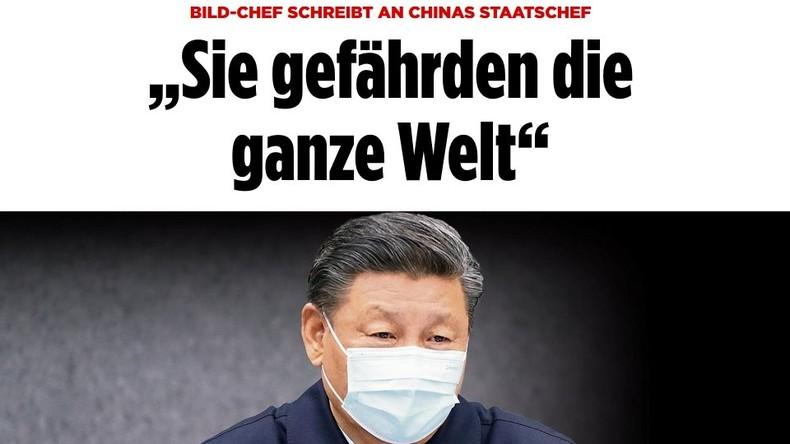 Bild-Zeitung vs. China: Chefredakteur Julian Reichelt schreibt sich faktenfrei in Rage