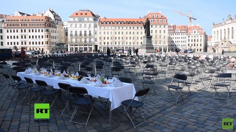 Dresden: Gastwirte protestieren auf besondere Weise gegen wirtschaftliche Notlage