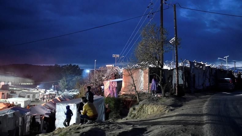 Griechische Insel Chios: Krawalle in Migrantencamp nach Tod einer Frau