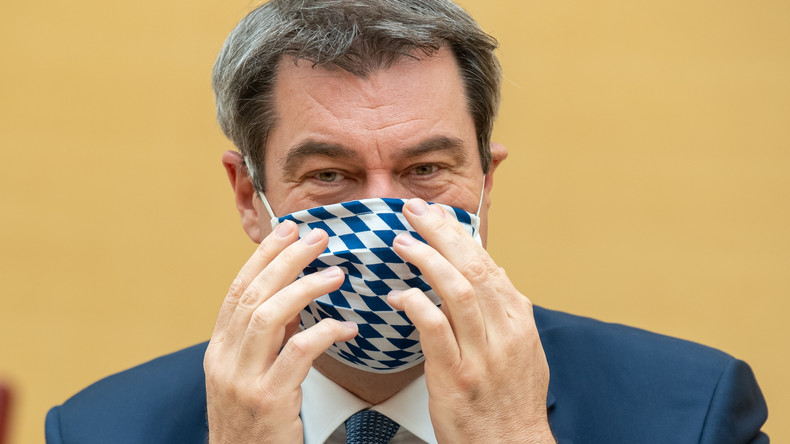 Bayern folgt Sachsen: Maskentragen in Läden und im Nahverkehr wird Pflicht