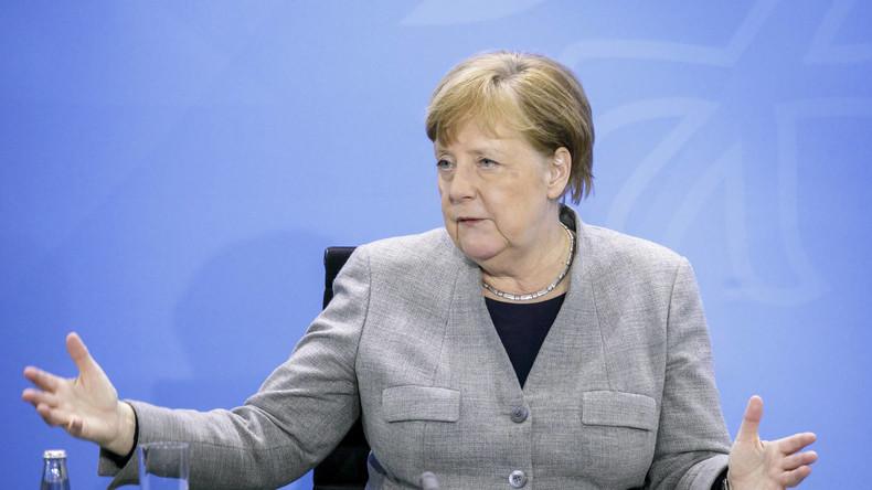 LIVE: Angela Merkel gibt Erklärung zur Corona-Krise ab