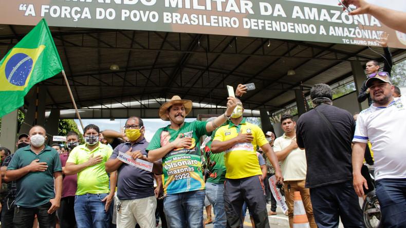 Brasilien: Bolsorano-Unterstützer fordern Militärputsch