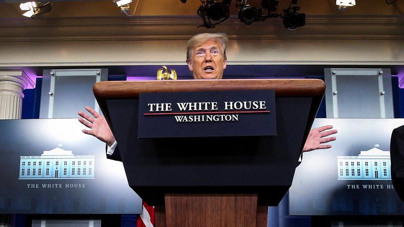 USA: Trumps Vorgehen in Corona-Krise spaltet das Land noch weiter (Video)