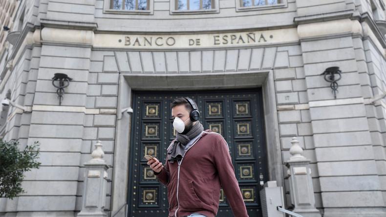 Zentralbank: Spaniens Wirtschaft könnte in diesem Jahr um 12,4 Prozent zurückgehen