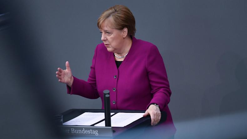 Regierungserklärung von Bundeskanzlerin Merkel zum Vorgehen in der Corona-Krise (Video)