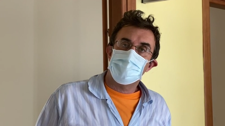 """Arzt aus Italien: Die eigene Corona-Infektion ist eine """"sehr harte und lehrreiche Erfahrung"""""""