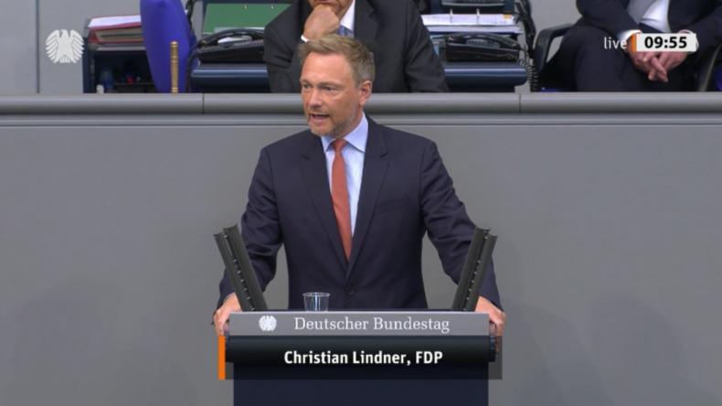 """""""Das sind Mittel des Mittelalters!"""": Lindner fordert Merkel zu sinnvollem Corona-Handeln auf"""