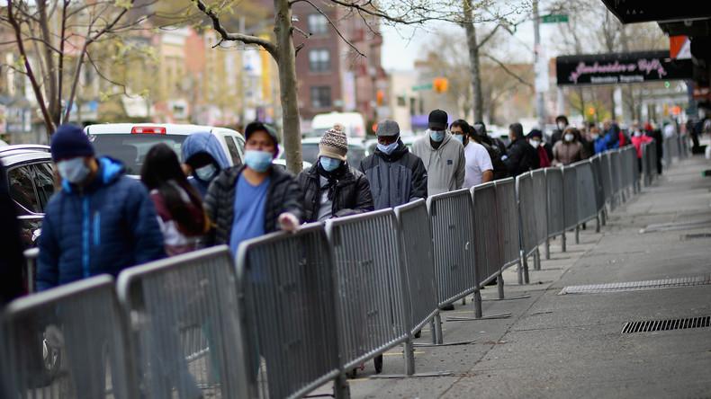 USA: Massenarbeitslosigkeit, Proteste und Nationalgarde auf den Straßen (Video)