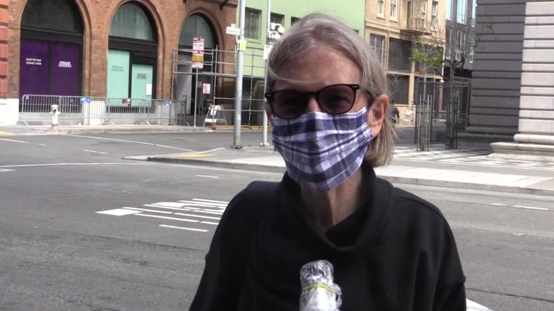 USA: Bewohner San Franciscos äußern sich zur Gesichtsmasken-Pflicht