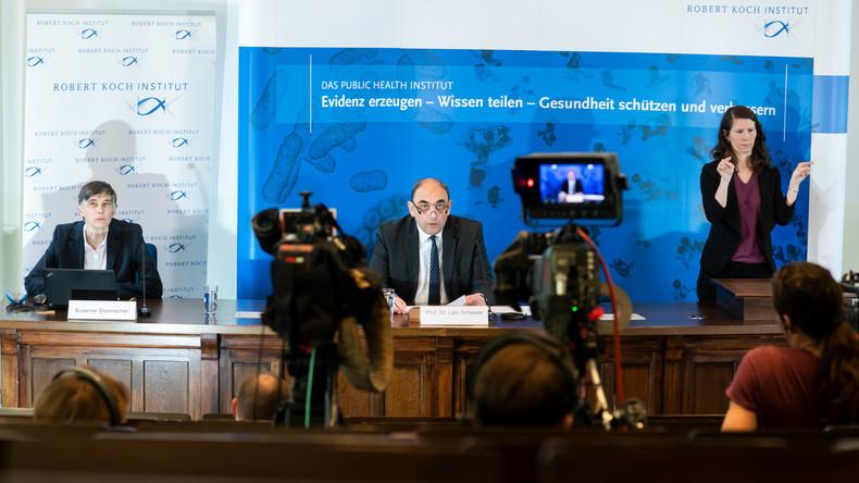 LIVE: Pressekonferenz des RKI zur aktuellen Lage in Deutschland angesichts COVID-19-Pandemie