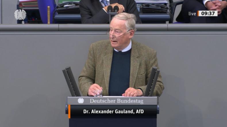 """Gauland wirft Merkel """"Basta-Mentalität"""" bei Corona vor und fordert schnelle Öffnung des Landes"""